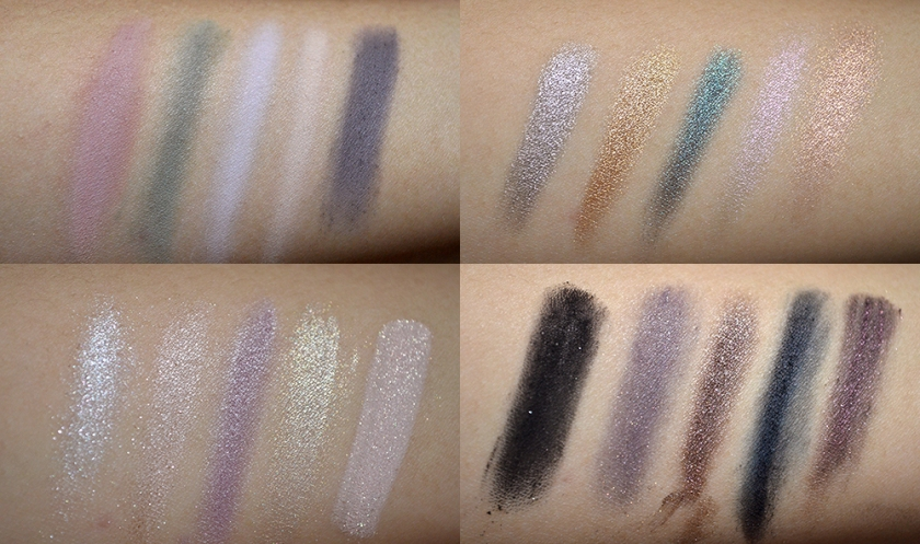 bareMinerals Degrees of Dazzling - Swatches