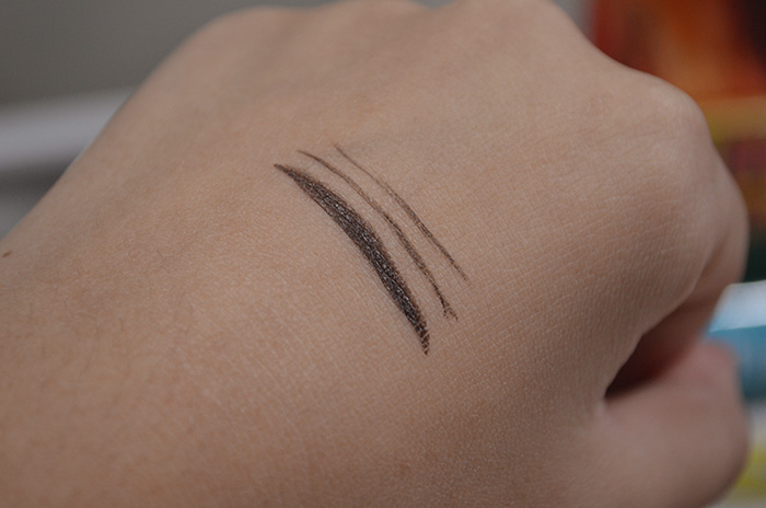 Graymelin Control Sharp Liner Waterproof - Brown - Swatch 1