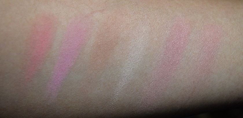 Le Metier de Beaute - Kaleidoscope Face Kit - Cheeky Chic - Swatches - 1, 2, 3, 4, 1-4, 134