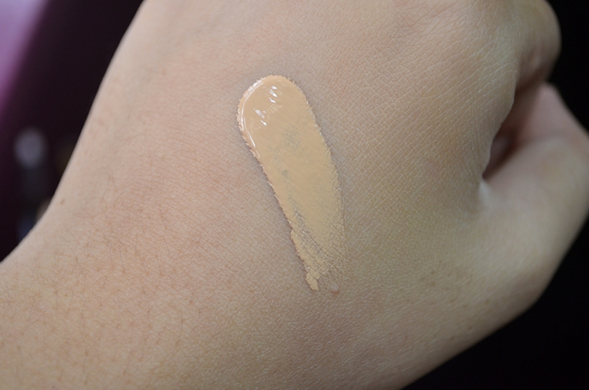 NARS Sheer Glow Foundation - Punjab - Swatch Unblended