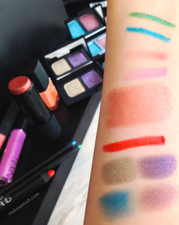 Nars-Spring-2014-Colour-Collection-Swatches