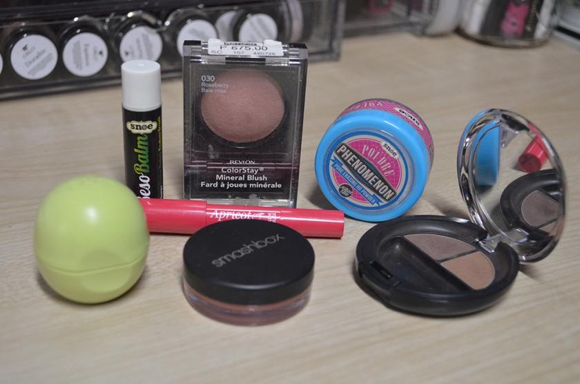 PP 2014 - Lip Balm, Blush, Setting Powder, Eyebrow