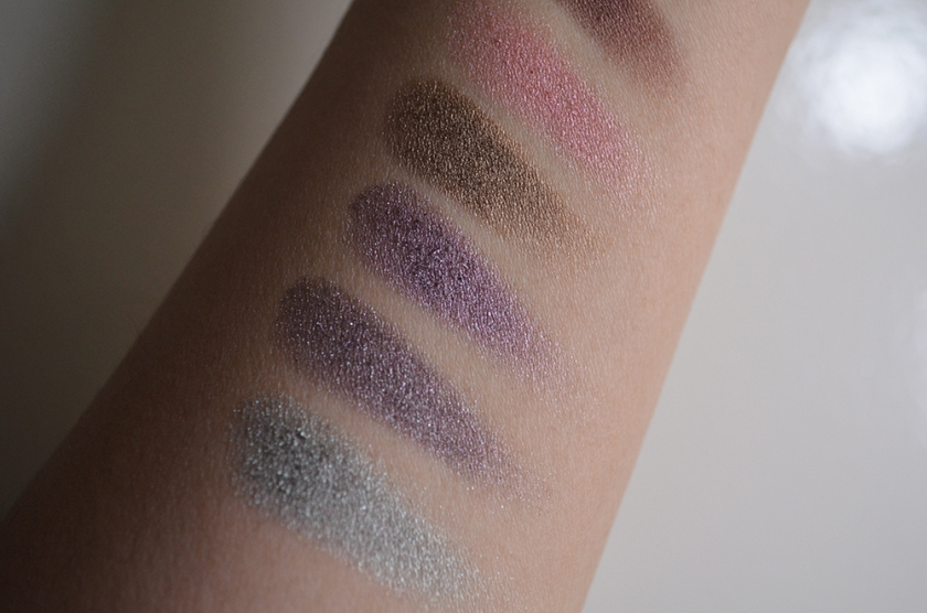 RBR - Eyeshadow - Swatches 1