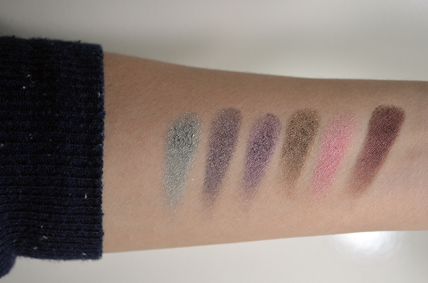 Rouge Bunny Rouge - Long-Lasting Eyeshadows - Swatches 1