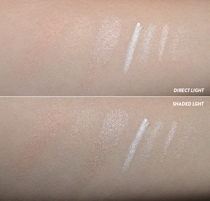 Ultraflesh - Shinebox - Swatches