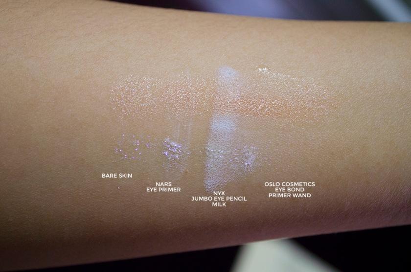 Illamasqua Pure Pigments - Furore and Static Swatches 2