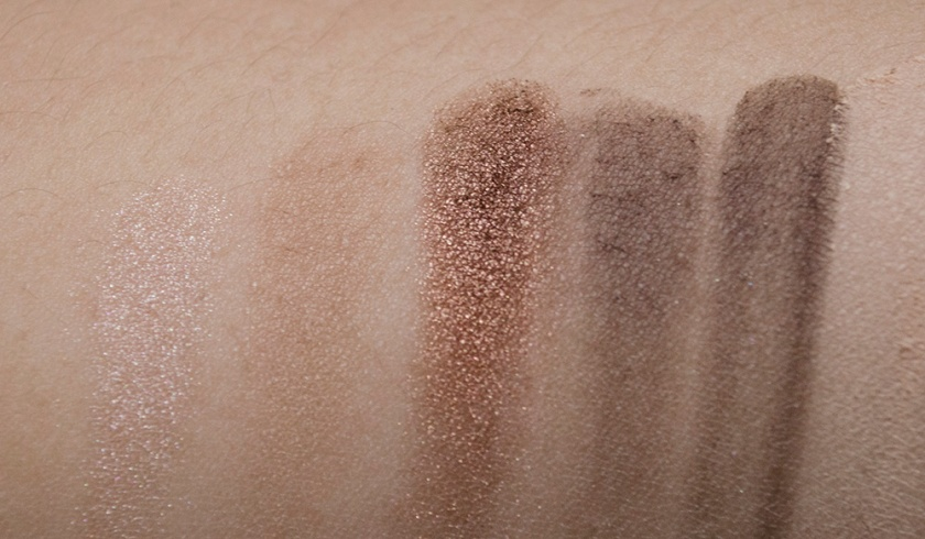 NARSissist - Row 1 - All About Eve 1, Madrague 2, Fez, Bali, Coconut Grove - Swatches
