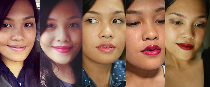5TF - Fussy Lipsticks Faces