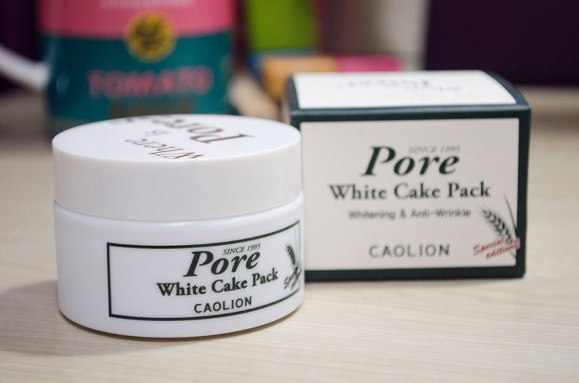 Caolion - Pore White Cake Pack - Tub