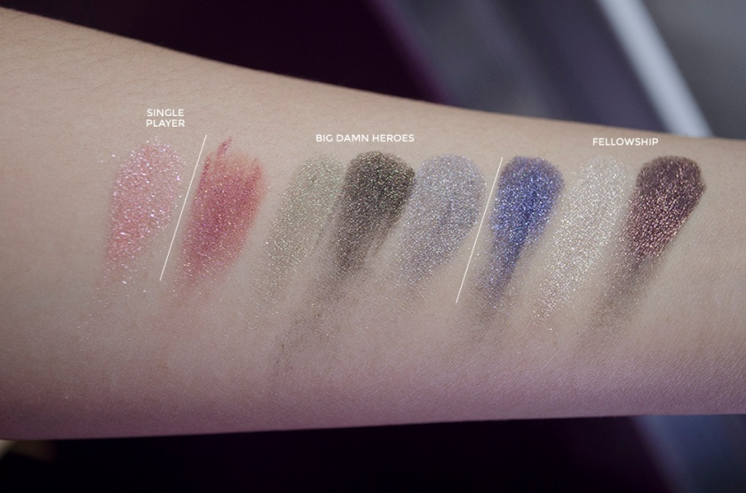 Geek Chic - Part I - Swatches