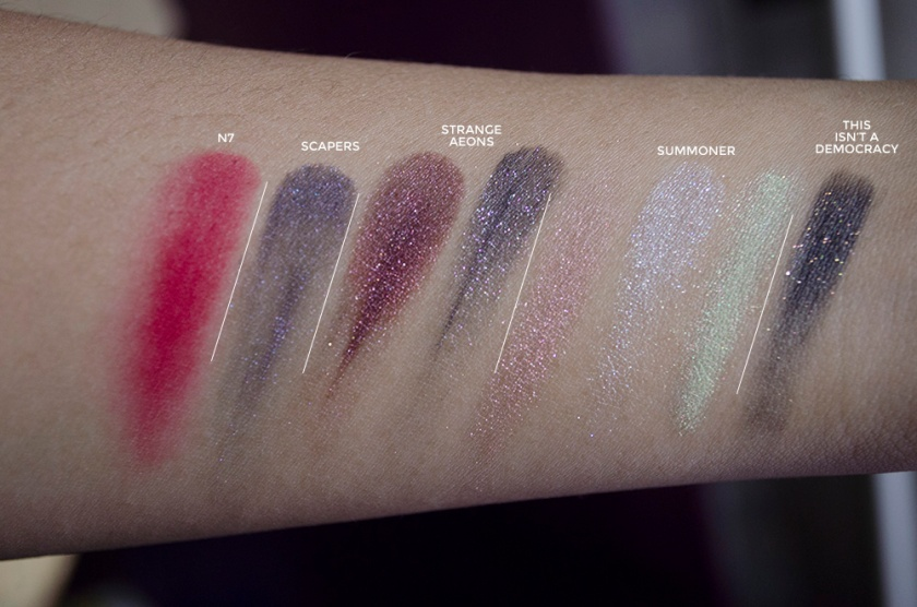 Geek Chic - Part II - Swatches