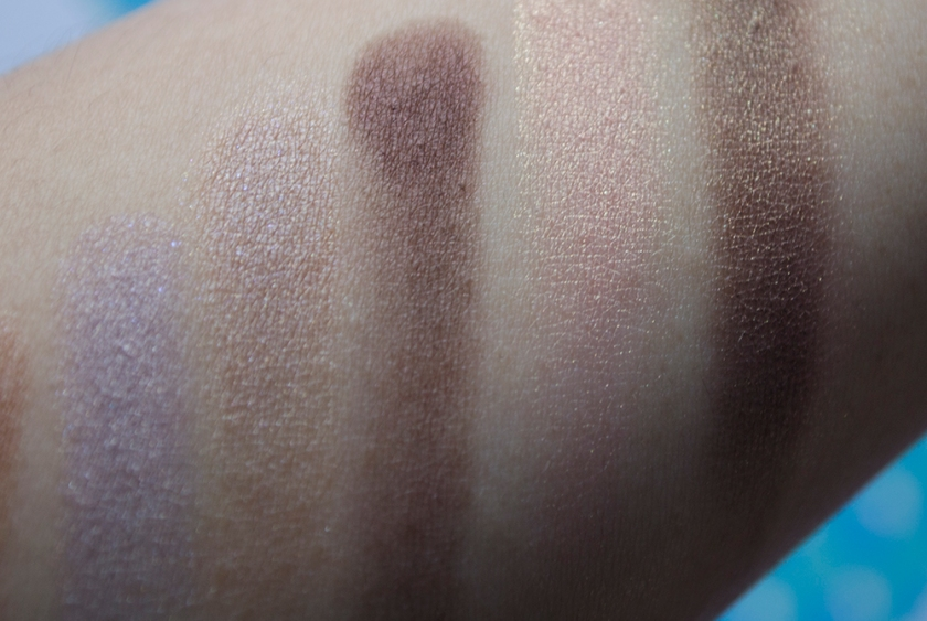 THREE - Eyeshadow Duo - Love Connection, Let the Happiness In - Swatches 2