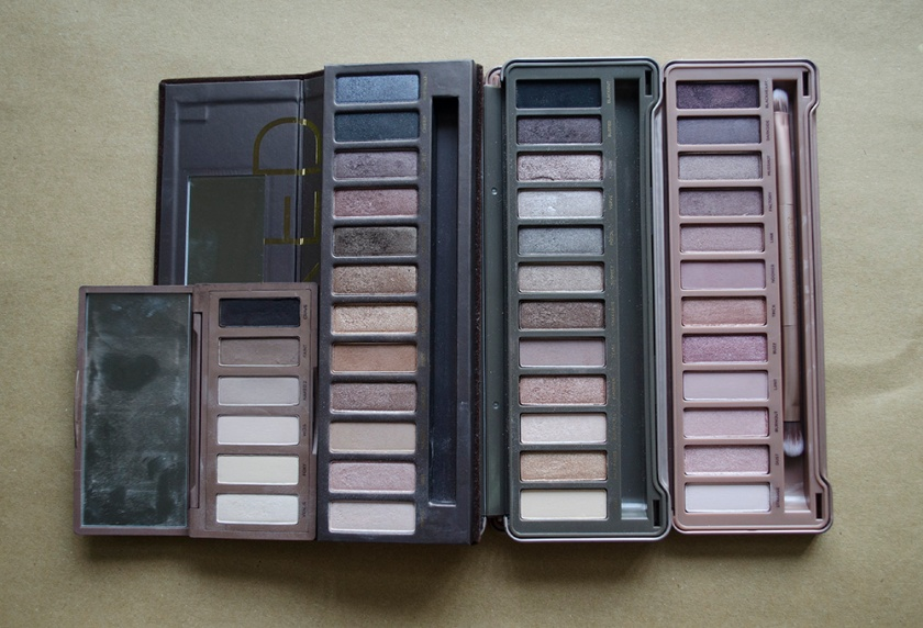 UD Naked - Comparisons