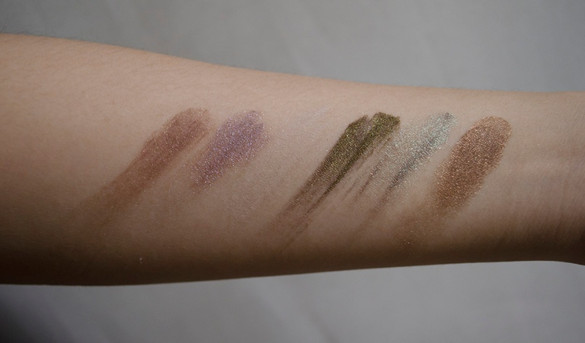 Notoriously Morbid - Beauty Blogger Package (Mostly Browns) - Swatches