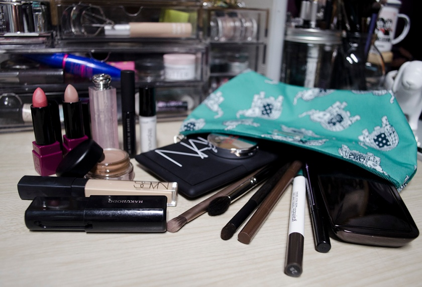 What I Brought Along - Makeup