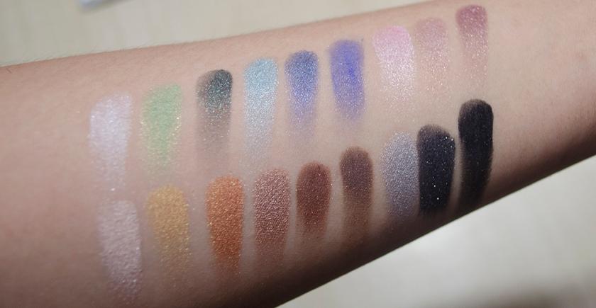 Le Metier de Beaute - Eyeshadow Palette - Melange - Swatches