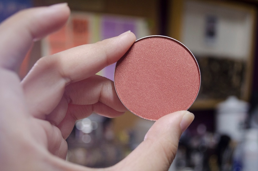 MAC Powder Blush - Ambering Rose - Pan
