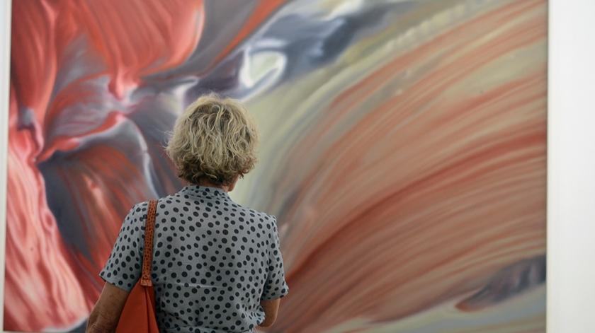 MUH - Gerhard Richter - Detail (rouge-bleu)