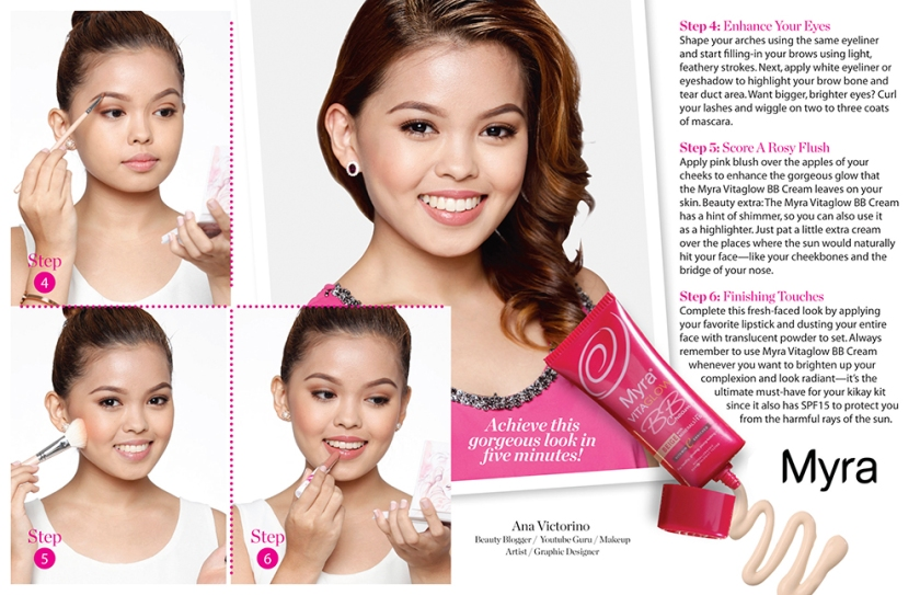 Myra Vitaglow BB Cream Signature Look 2-lores