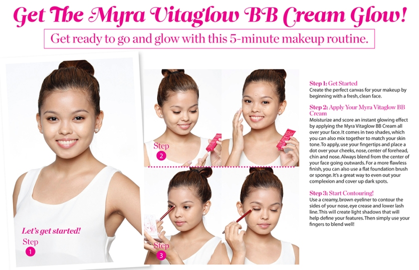 Myra Vitaglow BB Cream Signature Looklores
