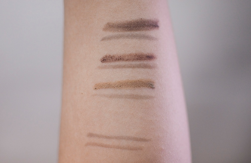 K-Palette - 2 Way Eyebrow Liner - Swatches