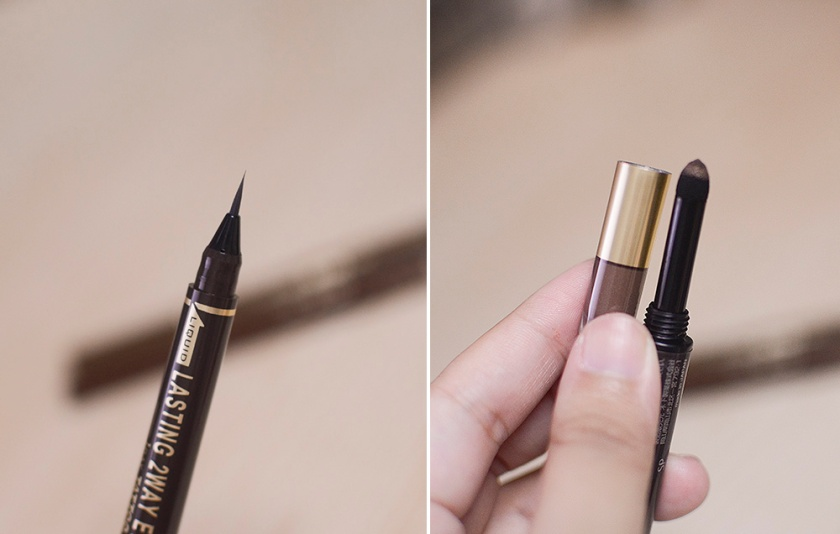 K-Palette Two Way Eyebrow - Marker Tip and Powder Tip
