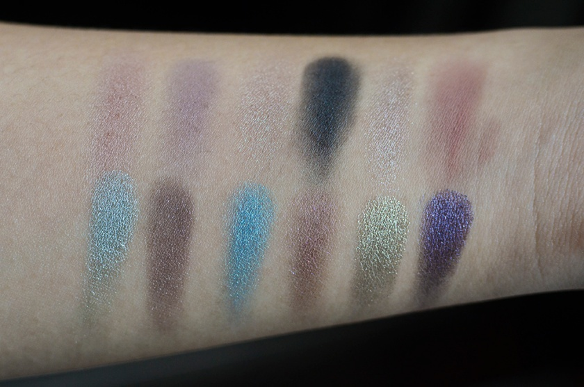NARS Eyeshadows Duos - Swatches