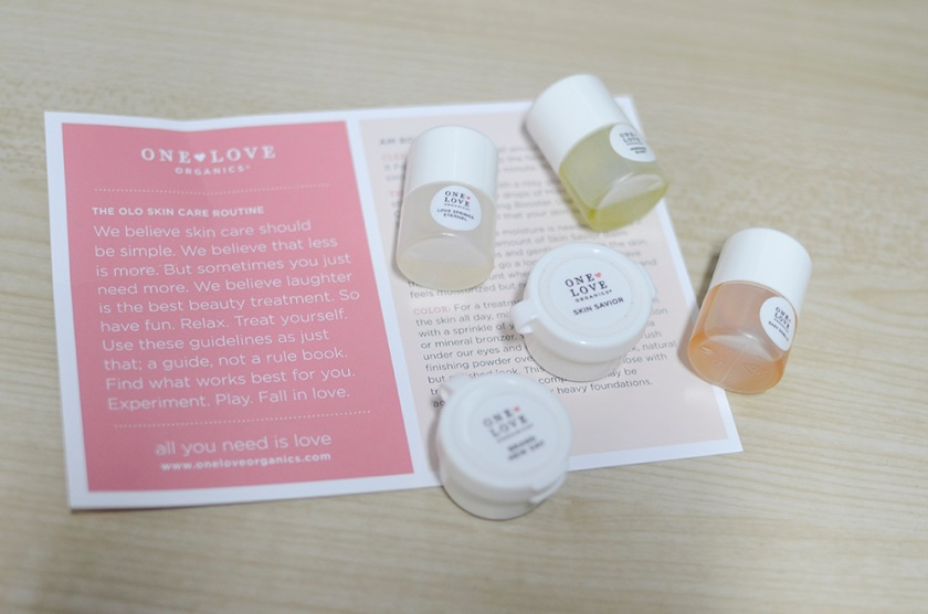 One Love Organics Sample Pack - With Card
