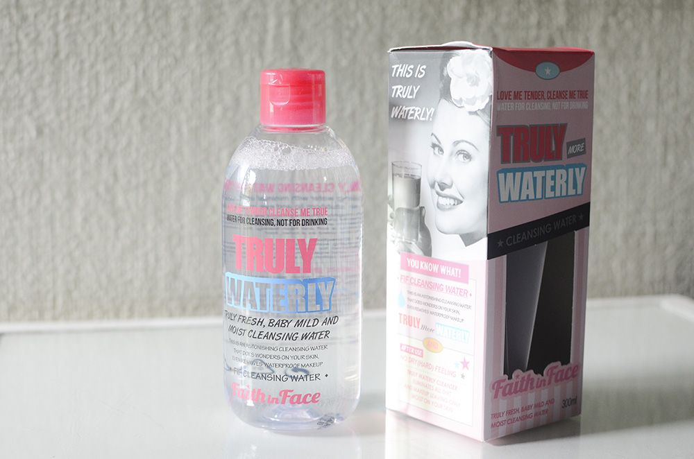FIF Truly Waterly Cleansing Water - Bottle