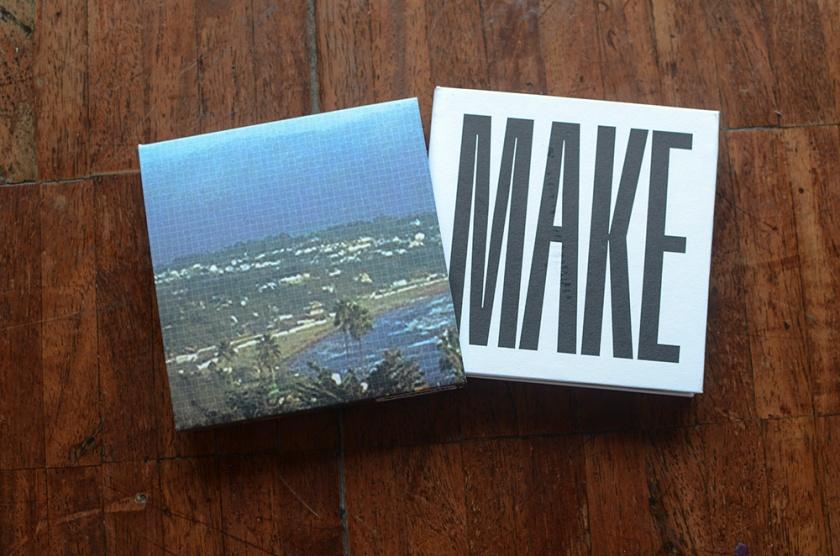 MAKE - Celeste e Verde Palette