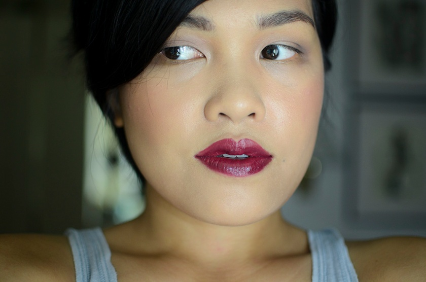 BITE Beauty - Lip Cashmere - Bordeaux - Face