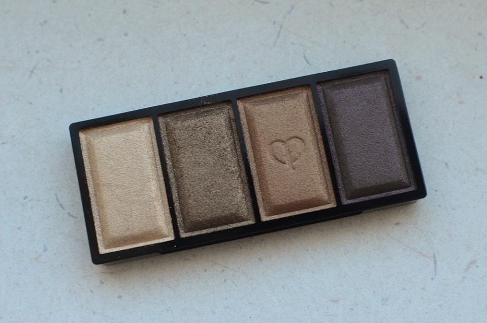 cle de peau - eyeshadow quad - 307 - pans