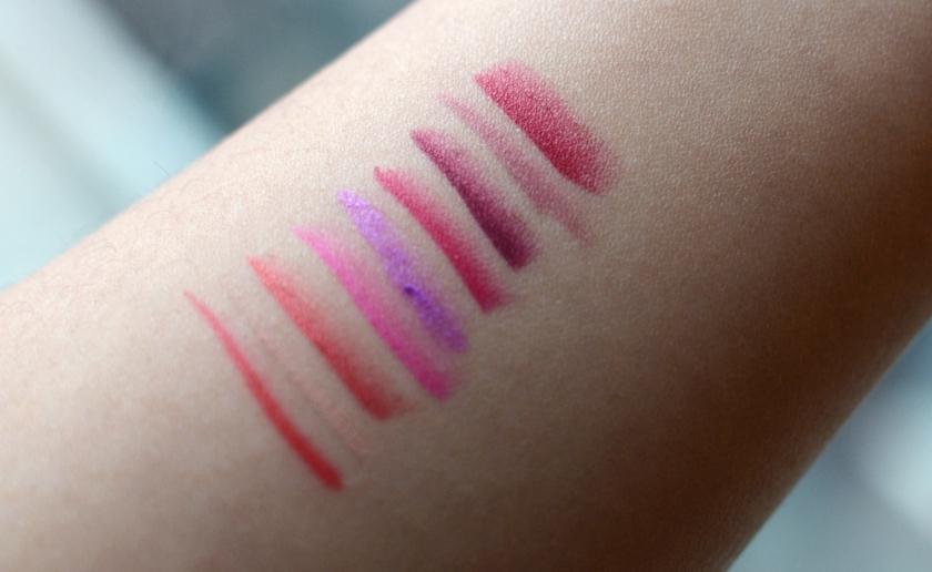 Kat Von D - Studded Kiss Lipstick - Minis - Swatches