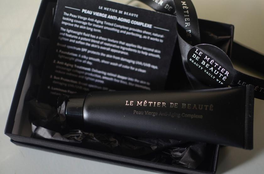 Le Metier de Beaute - Beauty Vault VIP 2014 - Sept - Peau Vierge Anti-Aging Complexe