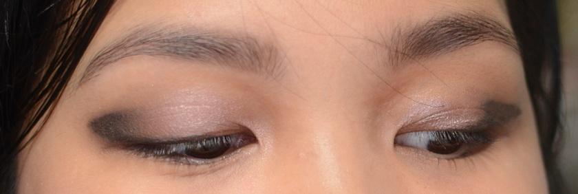 3CE Gel Liner Glitter Khaki Smudgedon Eyes