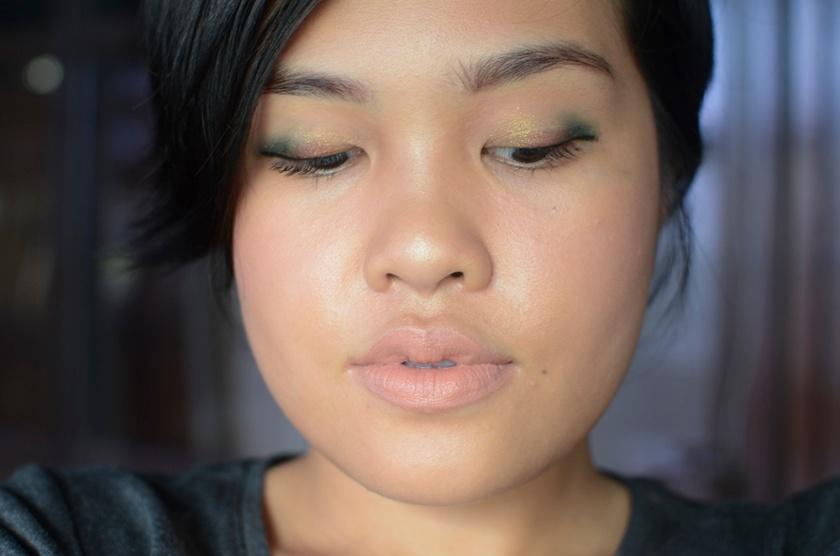 Sonia Kashuk Eye Palette - Precious Gems - Look 1a