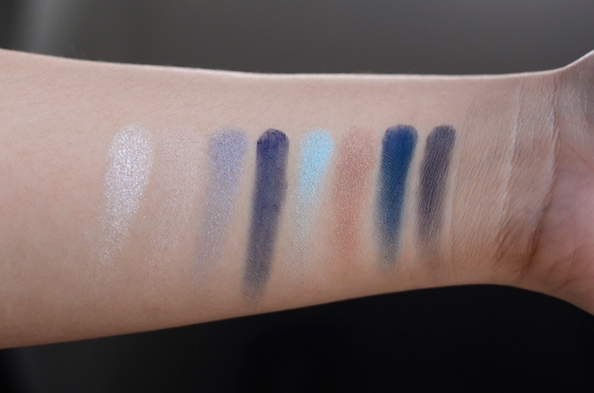 MAKE - Calypso Palette - Swatches