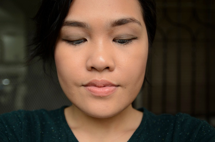 FOTD - MAKE Soft Focus Foundation and LMdB After Dark - Face 1