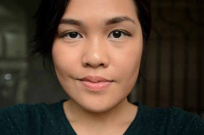 FOTD - MAKE Soft Focus Foundation and LMdB After Dark - Face 2