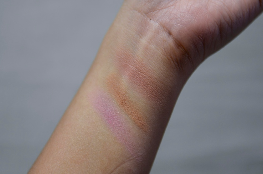 LMdB Beauty Vault VIP - Feb 2015 Unboxing - Blushing Bronzed Duet - Romeo and Juliet - Swatches