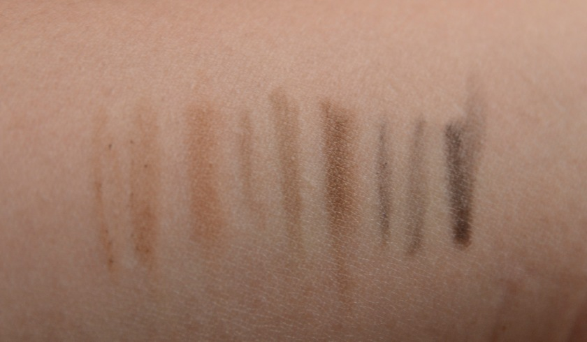 Kpalette Lasting 2Way Eyebrow Pencil 24H - Swatches 101, 102, 103