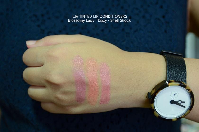 ILIA - Tinted Lip Conditioner - Blossomy Lady, Dizzy Shell Shock