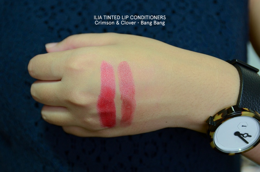 ILIA - Tinted Lip Conditioner - Crimson and Clover, Bang Bang copy