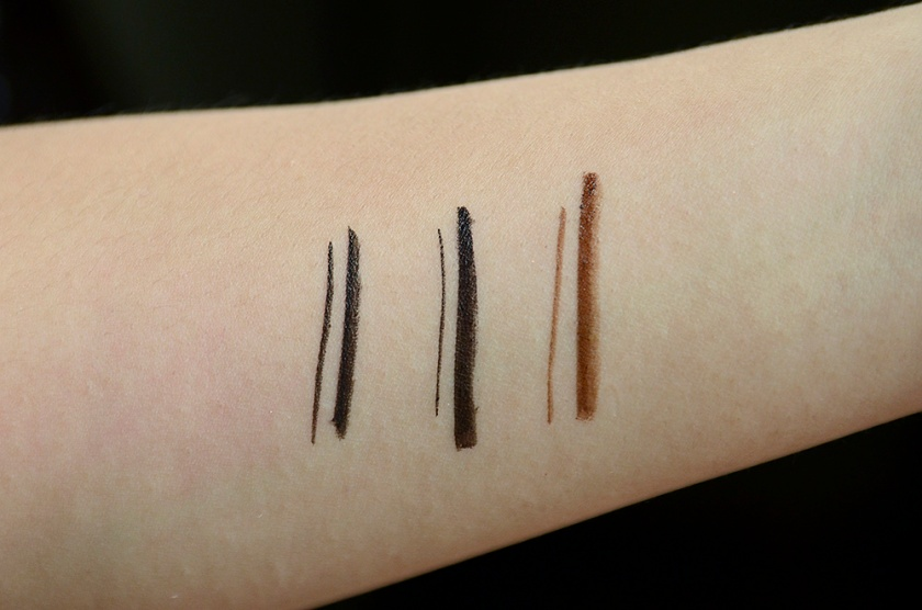 KPalette Real Lasting 24H Eyeliner WP - Best Ever - Swatches