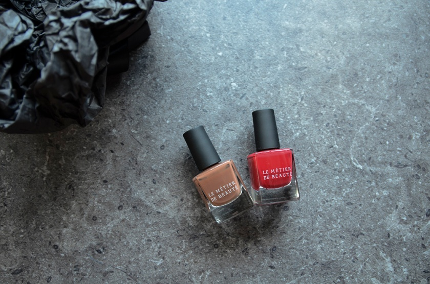 LMdB March Unboxing - 2015 - Nail Lacquers - Cocoa Cabana, Indo-Sheen Red