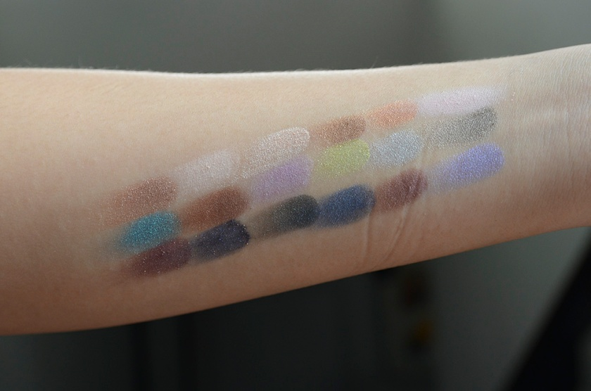 Le Métier de Beauté Beauty Vault VIP May 2015 - Sexy Eye Palette - Swatches