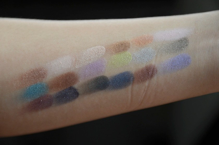 Le Métier de Beauté Beauty Vault VIP May 2015 - Sexy Eye Palette - Swatches2