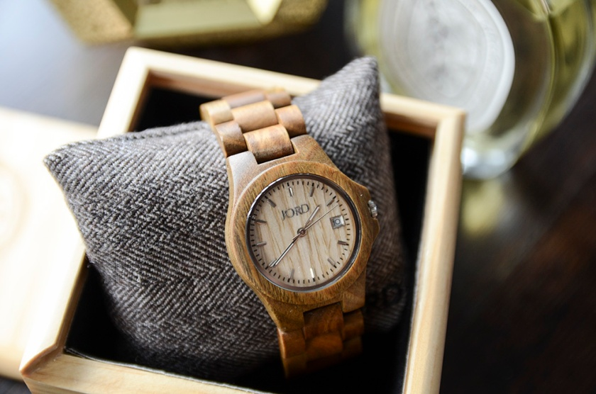 JORD Wood Watch - Ely Natural Green 2