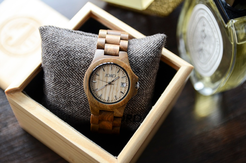 JORD Wood Watch - Ely Natural Green