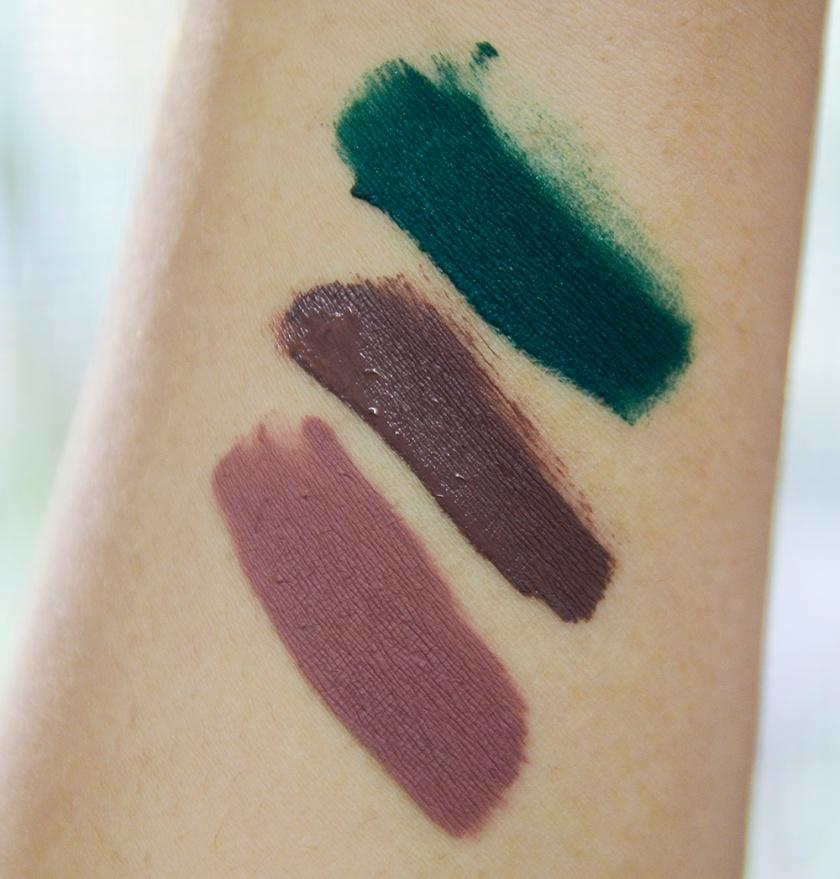 ColourPop - Ultra Matte Lip - Dr M, Kapow, Trap - Swatches